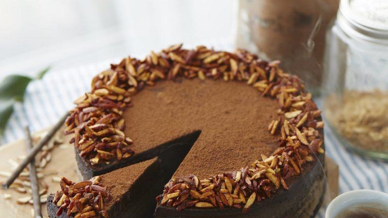 En lækker chokoladekage